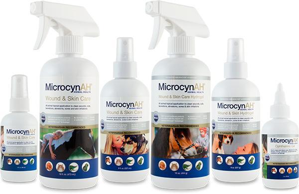 MicrocynAH Bottles