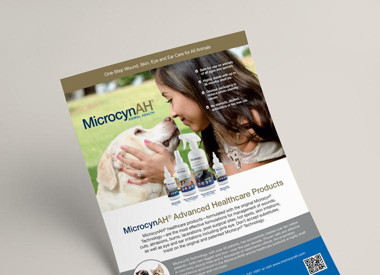 Microcyn Flyer Graphic Design
