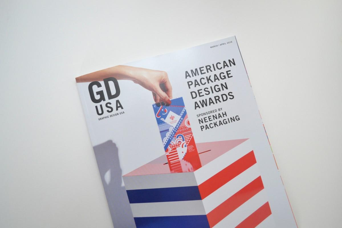 2016 American Package Design Awards Cover