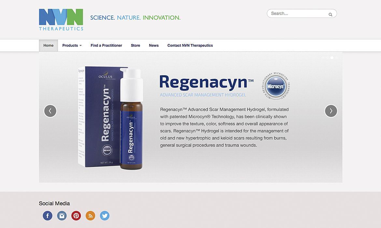 NVN home slider Regenacyn