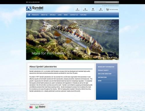 Syndel Laboratories Website
