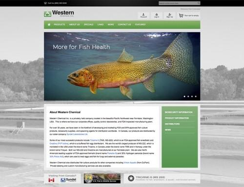 Western Chemical Website