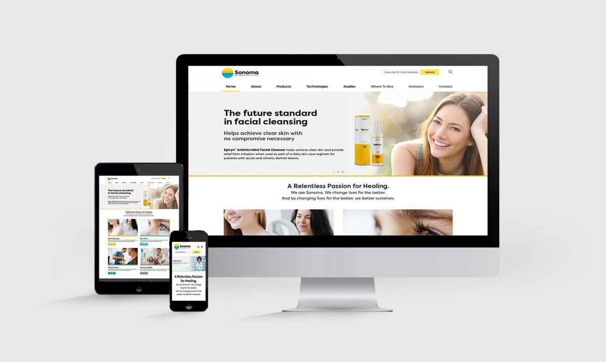 Sonoma Pharma Website 2018