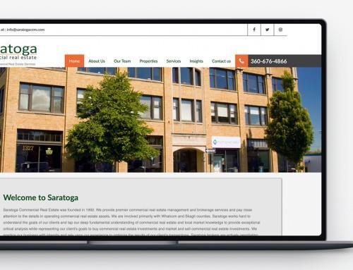 Saratoga Commercial Real Estate Website