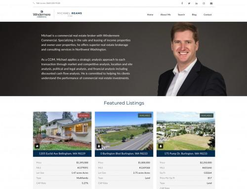 Michael Reams Commercial Real Estate Website