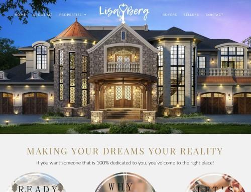 Lisa Berg Real Estate Website Design & Development