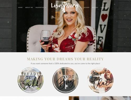 Lisa Berg Real Estate Website Design & Development