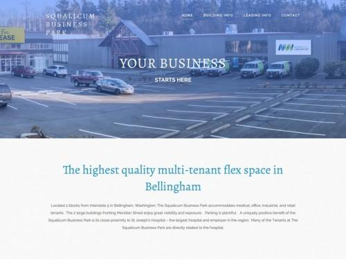 Squalicum Business Park – Commercial Real Estate Website