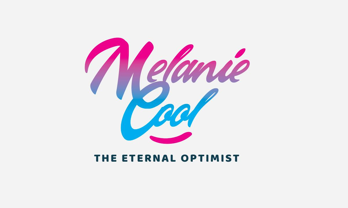 Melanie Cool Logo Graphic Design