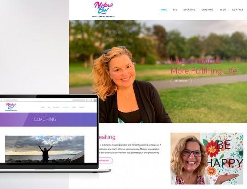 Melanie Cool Website Design & Development