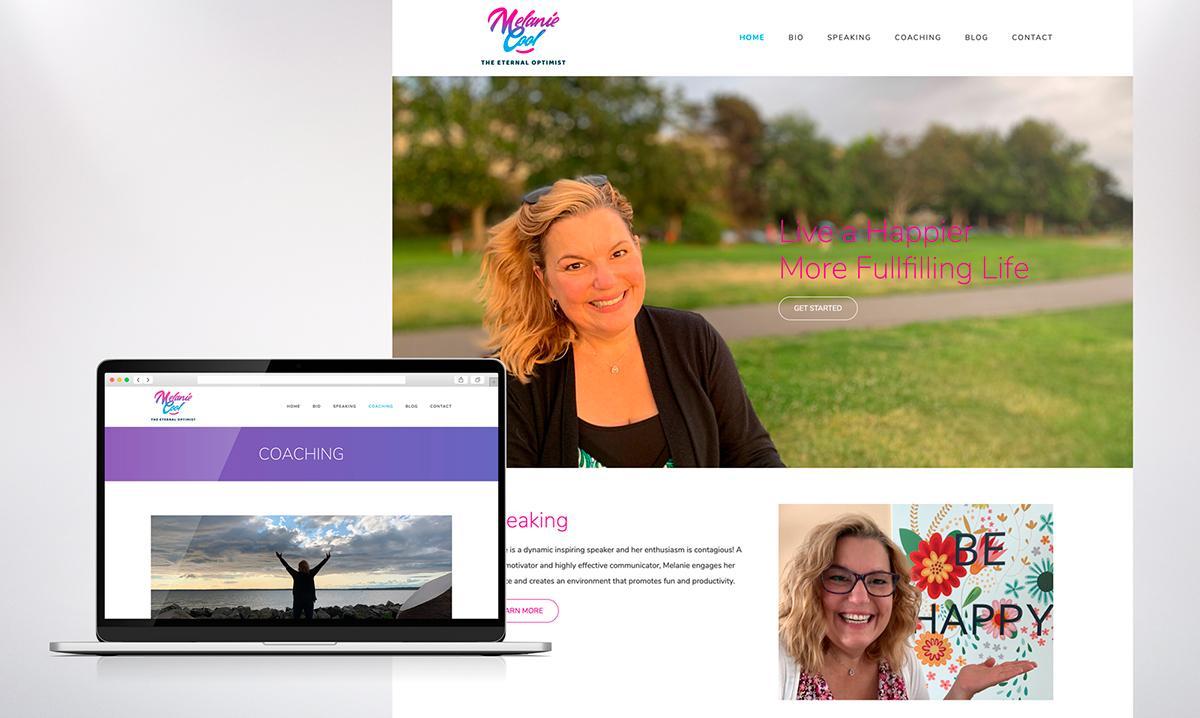 Melanie Cool Web Design and Development