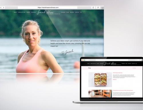 Sarah Haas Wellness Website Design & Development