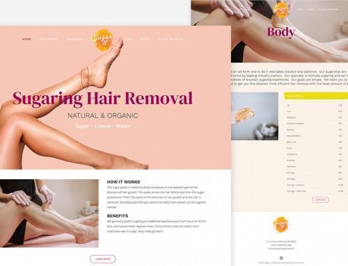 Sugar It Website Design & Development