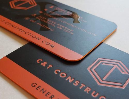 C&T Construction Logo Design