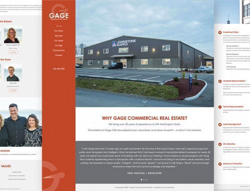 Gage Website Design & Development