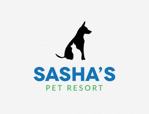 Sasha's Pet Resort Logo
