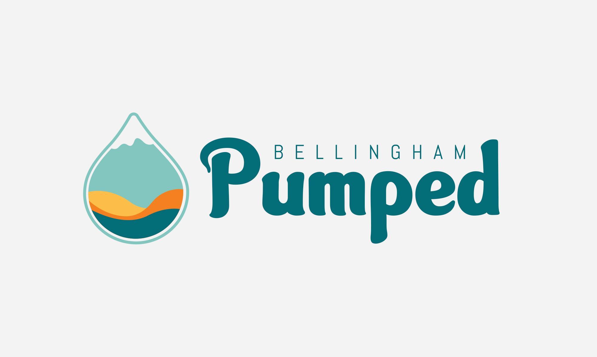 Pumped Bellingham Logo Design